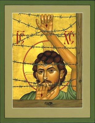 Christ of Maryknoll by Br. Robert Lentz, OFM